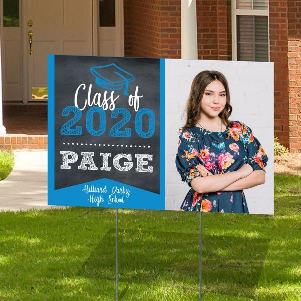 Graduation Banner Or Yard Sign