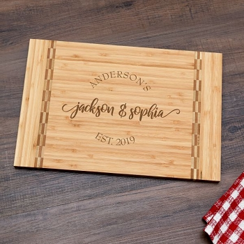 Couple's Personalized Cutting Board
