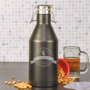 Top Shelf Groomsman Growler