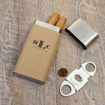 Monogram Cigar Holder