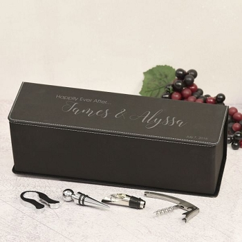 Happily Ever After Personalized Wine Box
