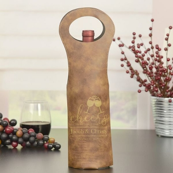 Cheers to You Personalized Wine Bag