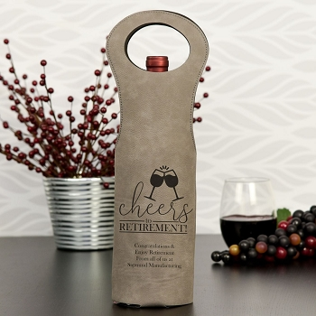 Cheers to Retirement Wine Gift Bag