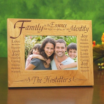 Essence of Family Personalized Frame