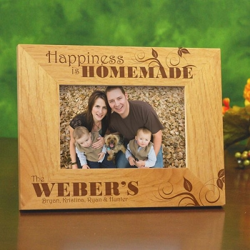 Family Happiness Personalized Frame