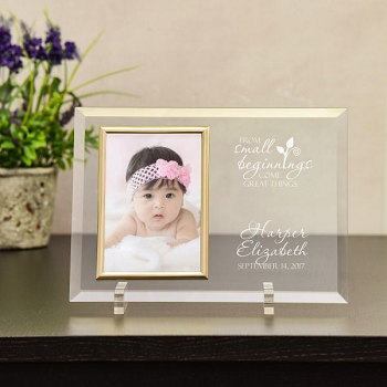 Small Beginnings Personalized Baby Frame