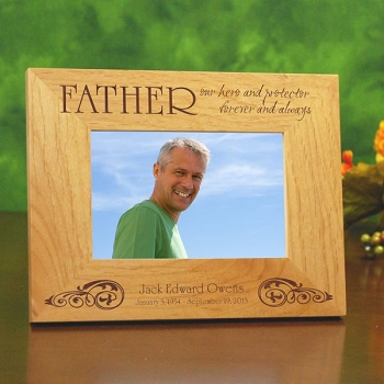My Hero Forever Picture Frame