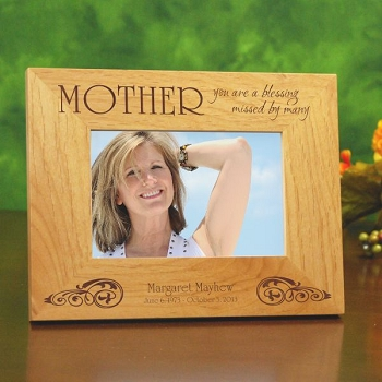 Mother Missed Picture Frame