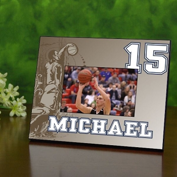 Retro Basketball Picture Frame