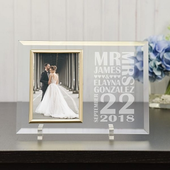 Wedding Day Personalized Frame
