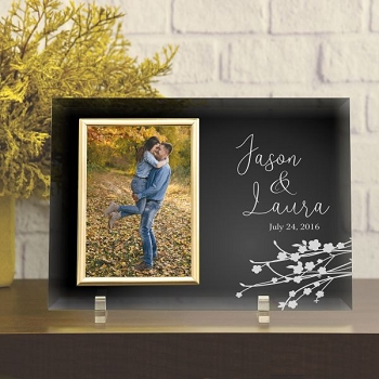 Happy Couple Personalized Picture Frame