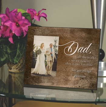 Favorite Walk Father of the Bride Frame