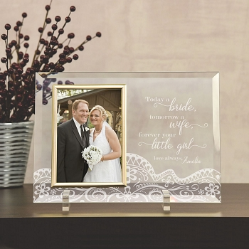 Your Little Girl Wedding Frame
