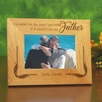 My Father Wedding Frame