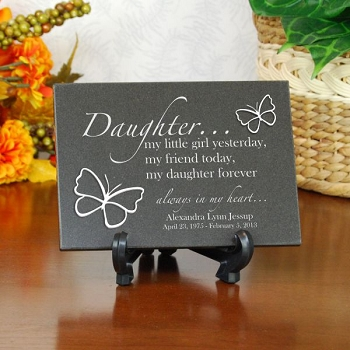Forever My Daughter Plaque