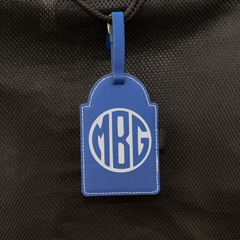 Monogram Golf Bag Tag