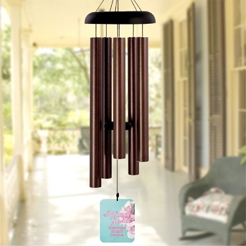 Love Grows in Her Garden Wind Chime