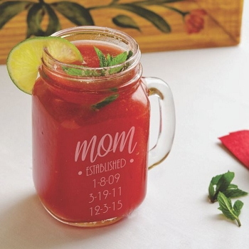 Established Mom Mason Jar
