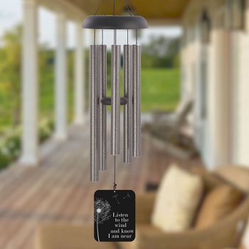 Listen to the Wind Pewter Wind Chime