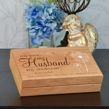 My Husband Keepsake Box
