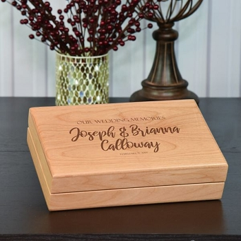 Wedding Memories Keepsake Box