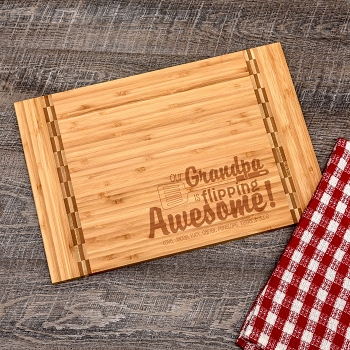 Awesome Grandpa Cutting Board