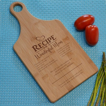Recipe for a Wonderful Mom Cutting Board