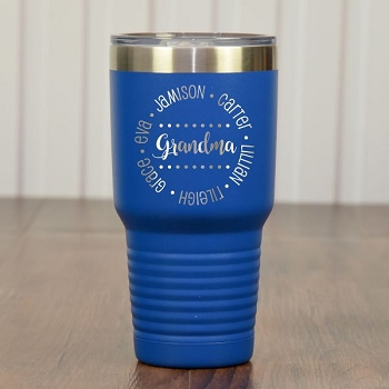 Grandma's Travel Tumbler