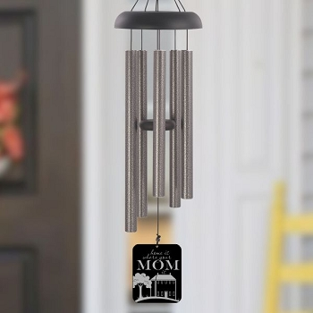 Mom's House Pewter Wind Chime