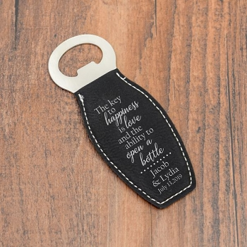 Key To Happiness Bottle Opener