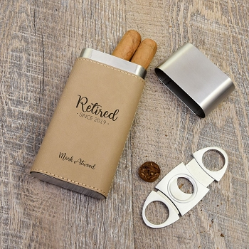 Retired! Cigar Holder
