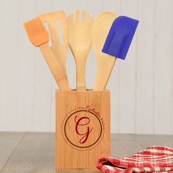 Monogram Cooking Utensil Set