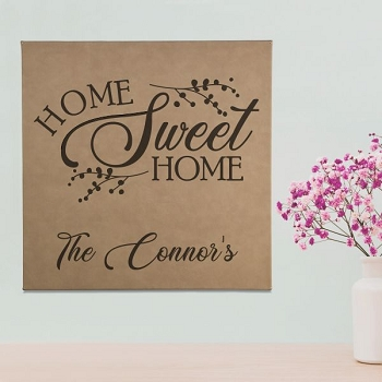 Home Sweet Home Personalized Wall Art