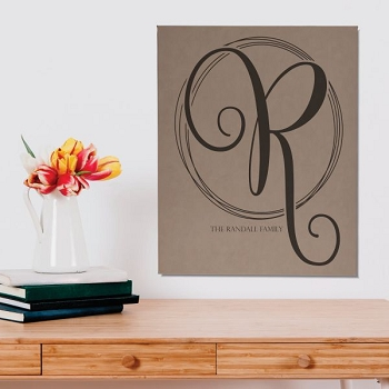 Monogram Personalized Wall Décor