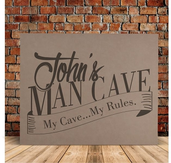 My Man Cave My Rule Wall Sign