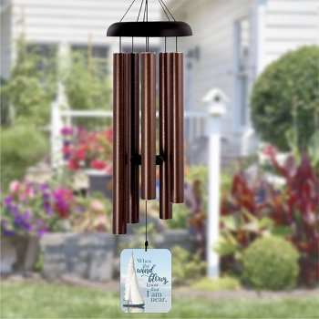 When the Wind Blows Bronze Wind Chime