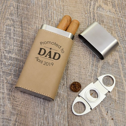Promoted to Dad Cigar Holder
