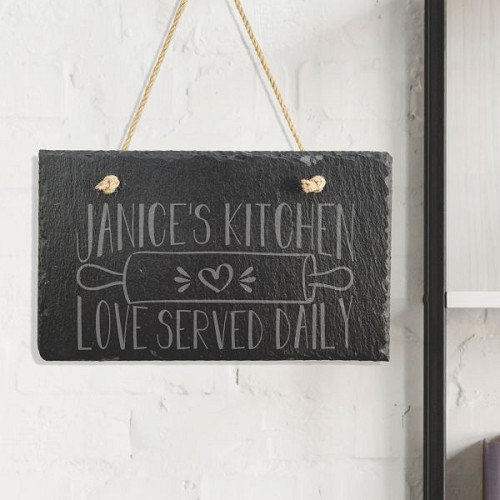 Love Served Daily Kitchen Sign