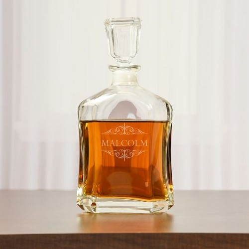 A Gentleman's Whiskey Decanter