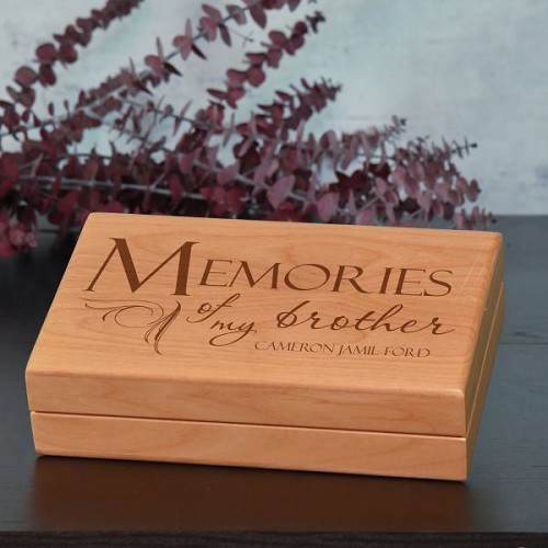 Memories of Brother Keepsake Box