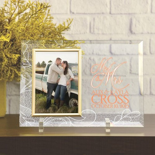 Mr. & Mrs. Personalized Frame
