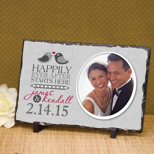 Happily Ever After Wedding Plaque