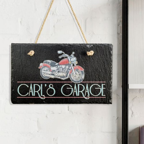 Motorcycle Garage Sign