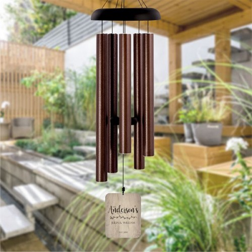 Personalized Family Wind Chime