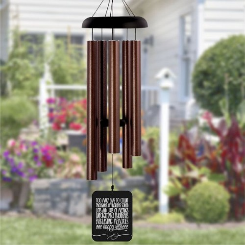 One Happy Retiree Wind Chime